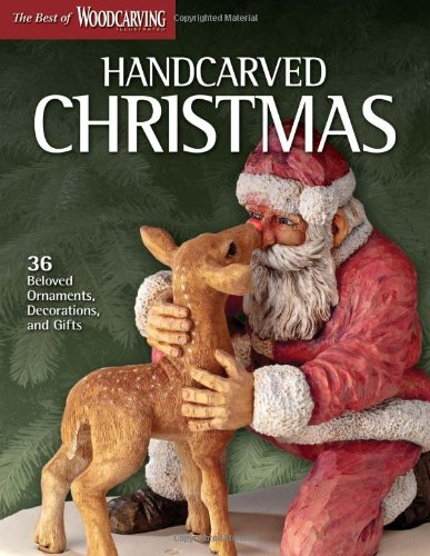 Handcarved Christmas (Best of Scroll Saw Woodworking)