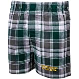 NCAA Men's Oregon Ducks Legend Flannel Boxers (Hunter/Gold, Medium)