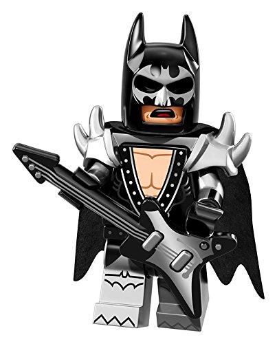 ザ・レゴ バットマン ムービー ミニフィギュア シリーズ Glam Metal Batman (グラム・メタル・バットマン)【71017-9】
