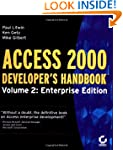 Access 2000 Developer's Handbook: Ent...