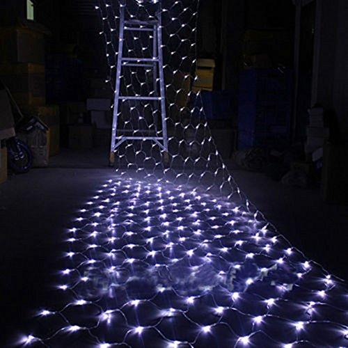 300Led 4.5M*1.5M Net String Fairy Light Party Wedding Christmas Decoration Lamp (White, 110V (Us Plug))