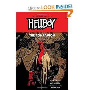 The Hellboy Companion by Stephen Weiner, Jason Hall, Victoria Blake and Mike Mignola