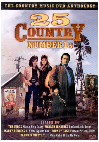 Various Artists - 25 Country Number 1s [DVD]