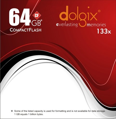 Dolgix 64gb Compact Flash (Cf) Card - 133x