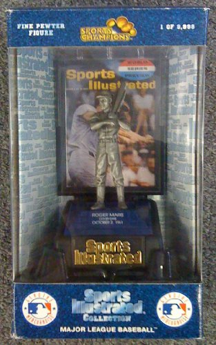 Roger Maris-Sports Illustrated Collection,Major League Baseball-Fine Pewter Figure - 1