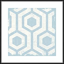 Framed Art Print, \'Winter Lattice Tile VIII\' by Michael Mullan: Outer Size 16 x 16\