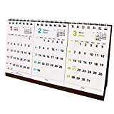 キュービックス 2015 カレンダー ベーシックA 卓上3ヶ月 ホワイト 202807-01