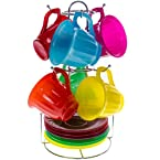 Colorful Glass Tea Set