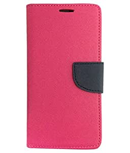 Ceffon Flip Cover Case For Samsung Galaxy S Duos 7562-Pink Blue