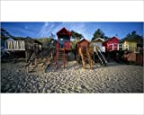 Photographic Print of Beach Huts, Wells-Next-The Sea, Norfolk, England