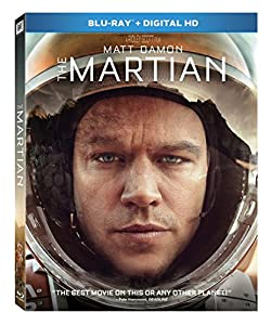 The Martian [Blu-ray + Digital HD] from 20th Century Fox