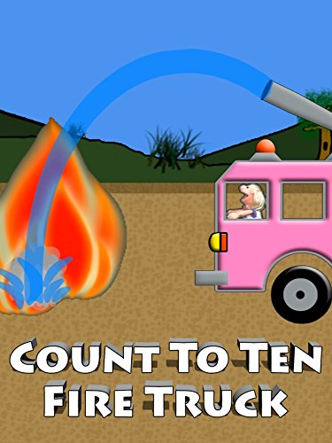 Pink Fire Truck Counting 1