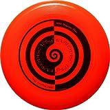 Eurodisc 175g Ultimate Frisbee Flying Disc 98% ORGANIC MATERIAL - SWIRL BRIGHT ORANGE