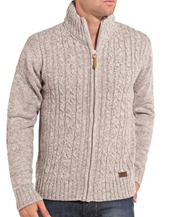 BLZ JEANS - Gilet homme blanc et gris zippé - Couleur : Blanc Taille : XXL
