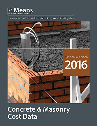 RSMeans Concrete & Masonry Cost Data 2016 - RS Means - RS-Concrete - ISBN: 1943215030 - ISBN-13: 9781943215034