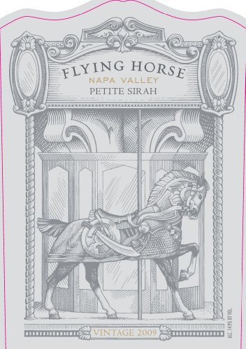 2009 Flying Horse Winery Napa Valley Petite Sirah 750Ml
