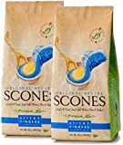Sticky Fingers Scone Mix (Pack of 2) 15 Ounce Bags - All Natural Scone Baking Mix (Original)