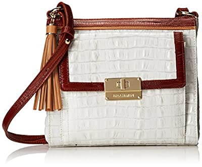 Brahmin La Scala Tri Mimosa Cross Body Bag