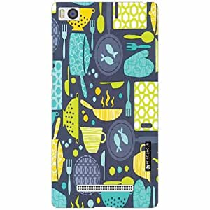 Xiaomi Mi4i MZB4300IN Back Cover - Silicon Pattern Art Designer Cases