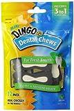 Dingo Denta-Treats Long-Lasting Mini Chews, 12-Pack, 5.5-Ounce