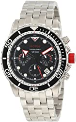 red line Men's RL-50034-11 Piston Chronograph Black Dial Watch