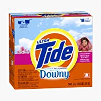 Tide Plus A Touch Of Downy April Fresh Scent Powder Laundry Detergent 18 Loads 33 Oz