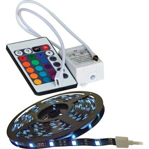 Calrad 92-301-Rgb-R Rgb 300-Light 3-Chip Led Strip With Lighting Control Module
