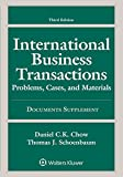 International Business Transactions: Problems, Cases, and Materials Documents Supplement
