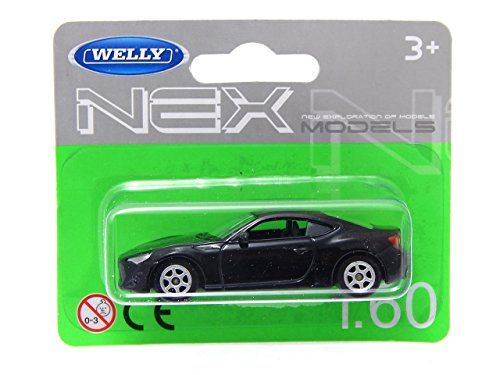 Toyota GT 86 Black 1:60 Welly (Subaru Brz Model compare prices)