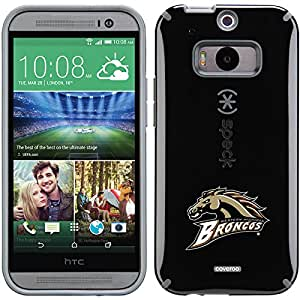 Coveroo CandyShell Cell Phone Case for HTC One M8 - Retail Packaging - Western Michigan Primary Mark