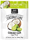 Project 7 Sugar Free Gum, Coconut Lime, 12 count (Pack of 12)