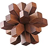 Wooden Puzzle - The Fifteen Star Puzzle - Wooden Puzzles for Adults