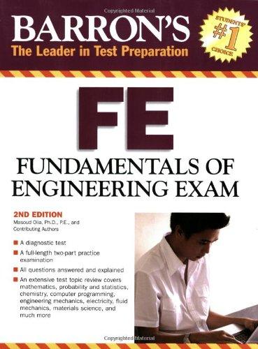 Barron's FE: Fundamentals of Engineering Exam (Barron's...
