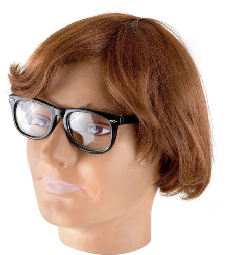Adult Austin Powers Halloween Costume Wig