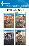 Harlequin American Romance July 2014 Bundle: The Rebel Cowboys Quadruplets\The Texans Cowgirl Bride\Runaway Lone Star Bride\More Than a Cowboy