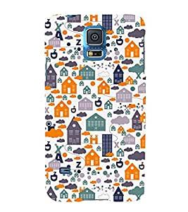 Home Ghar House Pattern 3D Hard Polycarbonate Designer Back Case Cover for Samsung Galaxy S5 Mini :: Samsung Galaxy S5 Mini G800F