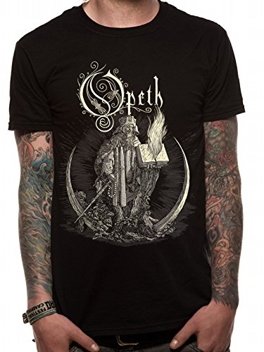 OPETH Opeth - Faith-T-shirt  Uomo    nero X-Large