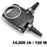 SunSun NEO14000 SuperECO Bachlaufpumpe Filterpumpe 14000l/h 120W