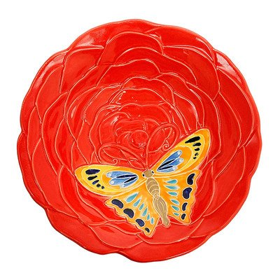Achla Designs Vermilion Bowl (Discontinued by Manufacturer)