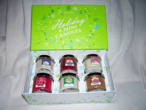 Bath and Body Works Holiday Traditions Six Mini