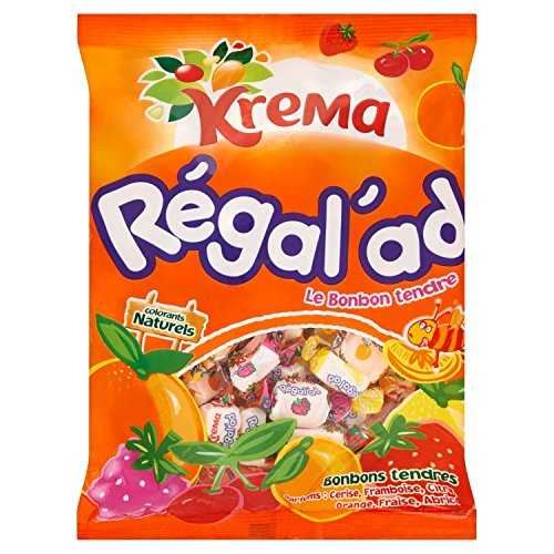 Krema Regal'ad Fruit Chewy Candy From France 150 Gr