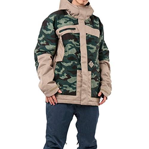 (ボンファイア) BONFIRE ボードジャケット WEBER JACKET CAMO/SHALE L(US)サイズ