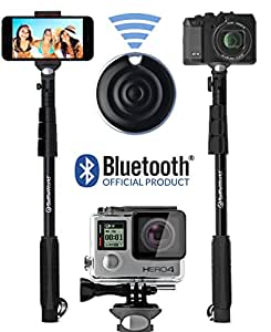 Selfie Stick, Professional 10-in-1 GoPro Monopod Kit