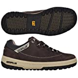 Caterpillar CAT Mens APA Lace Up Leather Walking Shoes - Brown