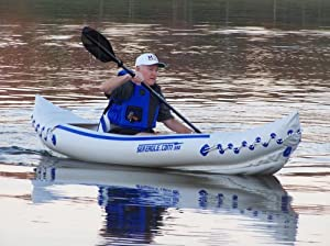 Buy Sea Eagle 330 Pro Solo - 1 Person Inflatable Kayak Package by Sea Eagle