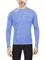 Spaio Camiseta Técnica Emmitou Duo Active 01 (Azul Jaspeado)