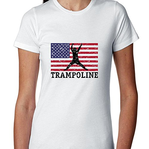 USA-Olympic-Trampoline-Vintage-Flag-Silhouette-Womens-Cotton-T-Shirt