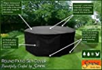 Large Round Patio Garden Table Set Po...