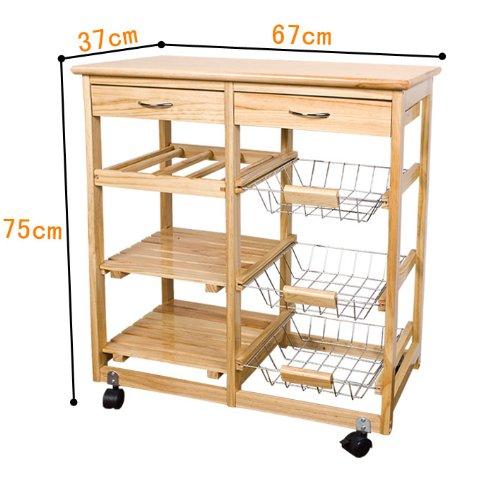 jeux et jouets meuble rangement cuisine roulant en bois. Black Bedroom Furniture Sets. Home Design Ideas