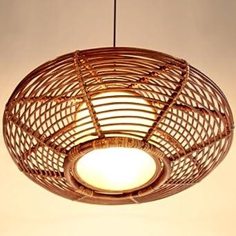 nilight 174 handmade modern rattan ceiling pendant l lighting fixture chandelier co uk